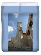 Grecian Ruins Duvet Cover