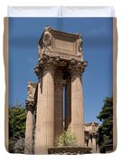 Greek Architecture Duvet Cover