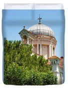 Greek Orthodox Church Duvet Cover
