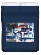 Greek Village Duvet Cover