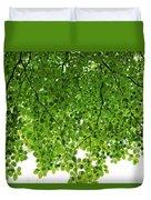 Green #001 Duvet Cover