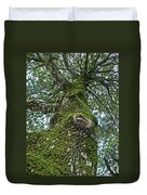 Green Arms Duvet Cover