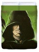 Green Arrow Duvet Cover