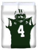Green Bay Packers Bret Favre 3 Duvet Cover