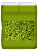 Green Beans Duvet Cover