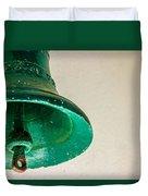 Green Bell Duvet Cover