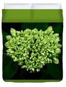 Green Bloom Duvet Cover