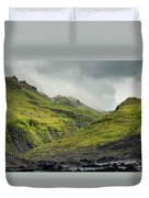 Green Canyon Duvet Cover