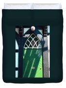 Green Door Duvet Cover