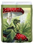 Green Dragon Duvet Cover