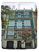 Green Facade Cadiz Duvet Cover