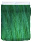 Green Fire 1 Duvet Cover