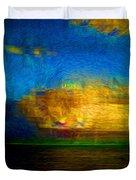 Green Flash Duvet Cover