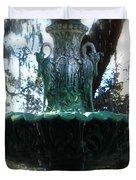 Green Fountain Duvet Cover