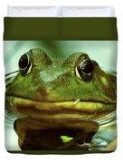 Green Frog Duvet Cover