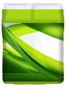 Green Grass Background Duvet Cover