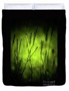 Green Grass Grow Glow Duvet Cover