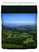 Green Hills Duvet Cover