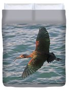 Green Ibis 6 Duvet Cover