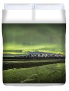 Green Ice Duvet Cover