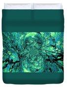 Green Irrevelance Duvet Cover