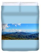 Green Knob Hdr Eastern Panorama Duvet Cover