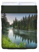 Green Lake Duvet Cover