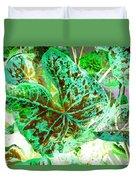 Green Leafmania 1 Duvet Cover