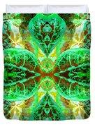Green Leafmania 3 Duvet Cover