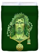 Ivy Green Man Duvet Cover