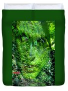 Green Man Duvet Cover