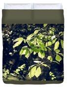 Green Mood 2 Duvet Cover