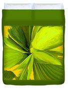 Green Mosaic Duvet Cover