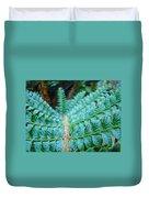 Green Nature Forest Fern Art Print Baslee Troutman  Duvet Cover