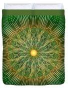 Green No2 Duvet Cover