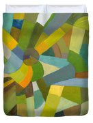 Green Pallette Duvet Cover