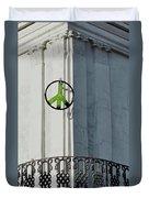 Green Peace Duvet Cover