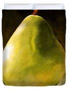 Green Pear Duvet Cover