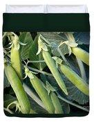 Green Peas Duvet Cover