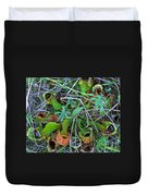 Northern Pitcher Plant Duvet Cover
