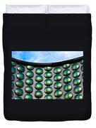 Green Polka-dot Curve Duvet Cover