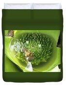 Green Pool Duvet Cover