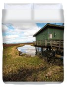Green Pump House Duvet Cover