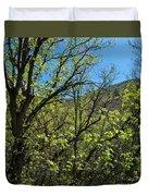 Green Reach Duvet Cover