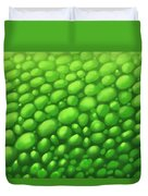 Green Scales Duvet Cover