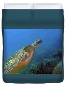 Green Sea Turtle 4 Duvet Cover
