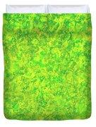 Green Spirits Duvet Cover
