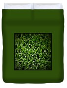 Green Stalks Duvet Cover