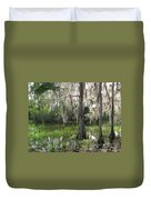 Green Swamp Duvet Cover