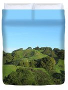 Green Trail Duvet Cover